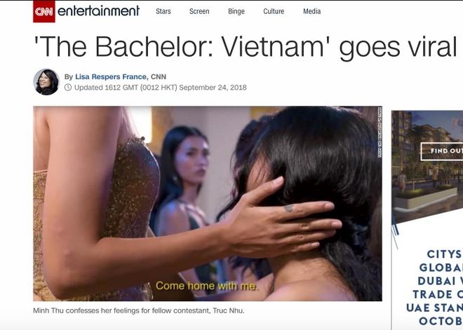Bao chi quoc te ngac nhien truoc 2 co gai dong tinh o The Bachelor VN hinh anh 2