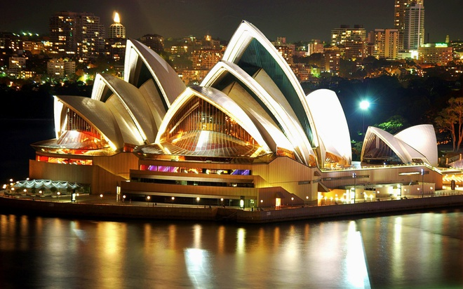 Nha hat Sydney mot thoi gay tranh cai va cac bieu tuong van hoa tam co hinh anh