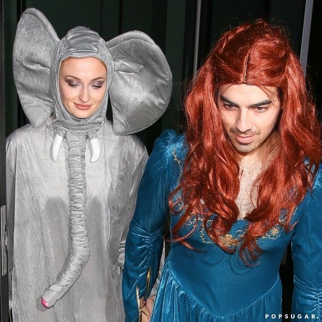 Dan sao Hollywood hoa trang hai huoc trong ngay Halloween hinh anh 2