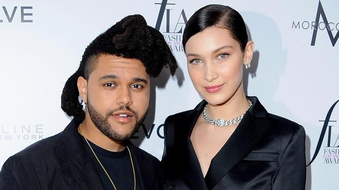Sau khi tai hop, Bella Hadid va The Weeknd don ve song chung hinh anh