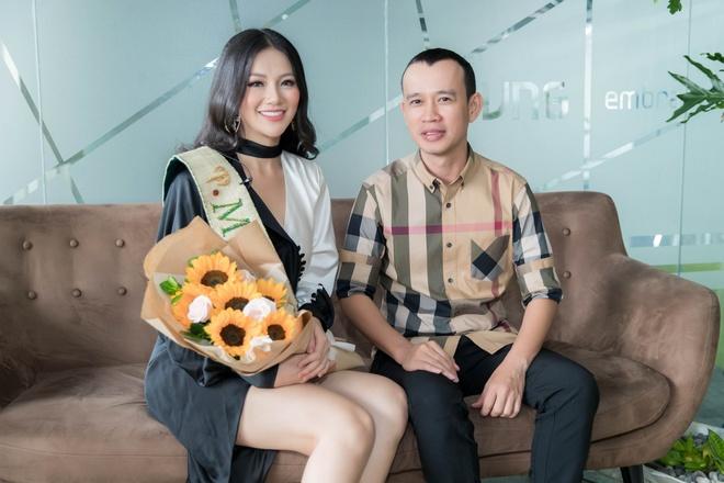 'Phuong Khanh co hoc van tot hon Pham Huong, Hoang My khi thi quoc te' hinh anh