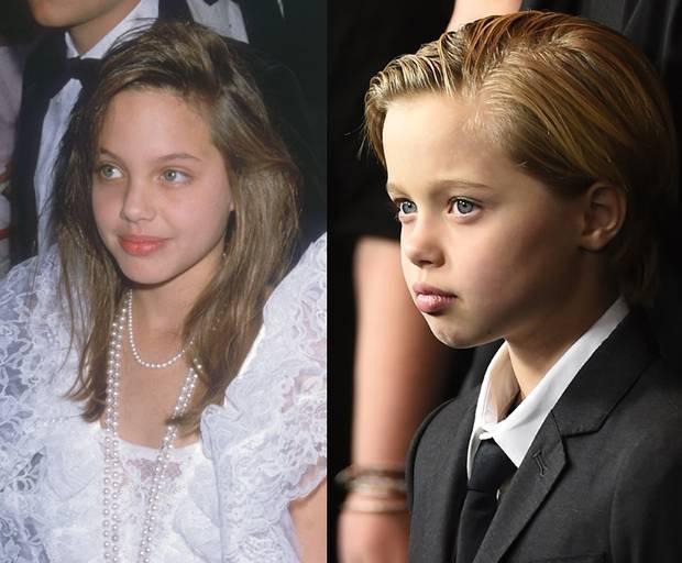 Con gai tom boy nha Angelina Jolie ngay cang ra dang con trai hinh anh 6