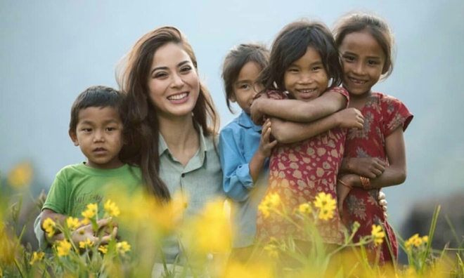 Hoa hau Nepal o Miss World: Nhan sac rang ngoi, xuat than danh gia hinh anh