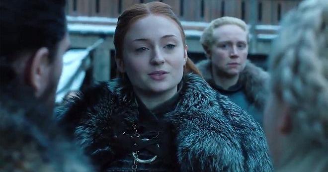 'Game of Thrones' mua cuoi: Sansa phuc tung, goi Me Rong la nu hoang hinh anh
