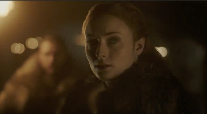 Ba anh em nha Stark ke vai sat canh trong teaser 'Game of Thrones 8' hinh anh