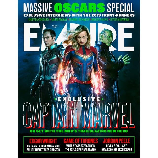 'Captain Marvel' he lo hinh anh doi thu dang so cua nu sieu anh hung hinh anh 3
