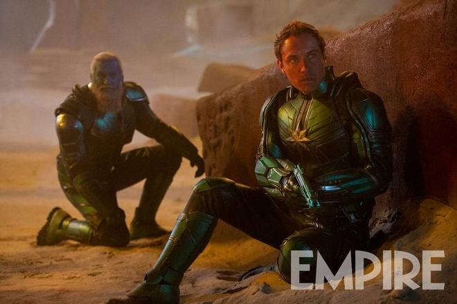 'Captain Marvel' he lo hinh anh doi thu dang so cua nu sieu anh hung hinh anh 2