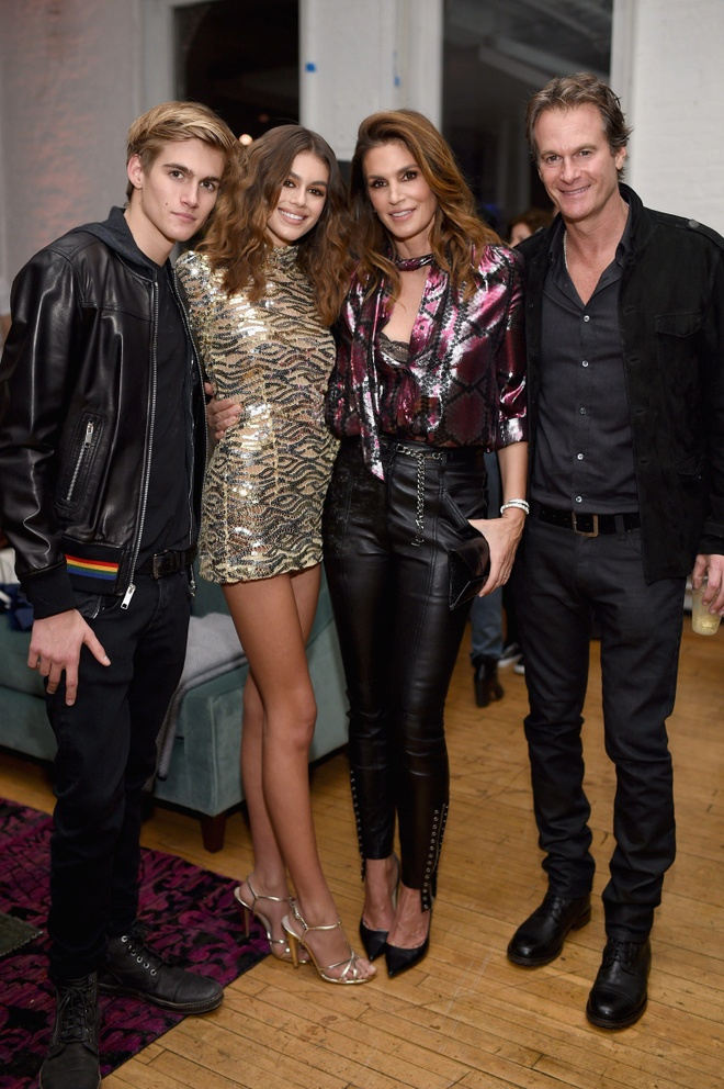 gia dinh Cindy Crawford anh 5