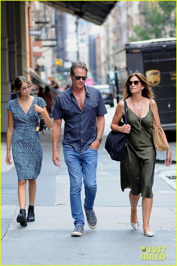 gia dinh Cindy Crawford anh 1