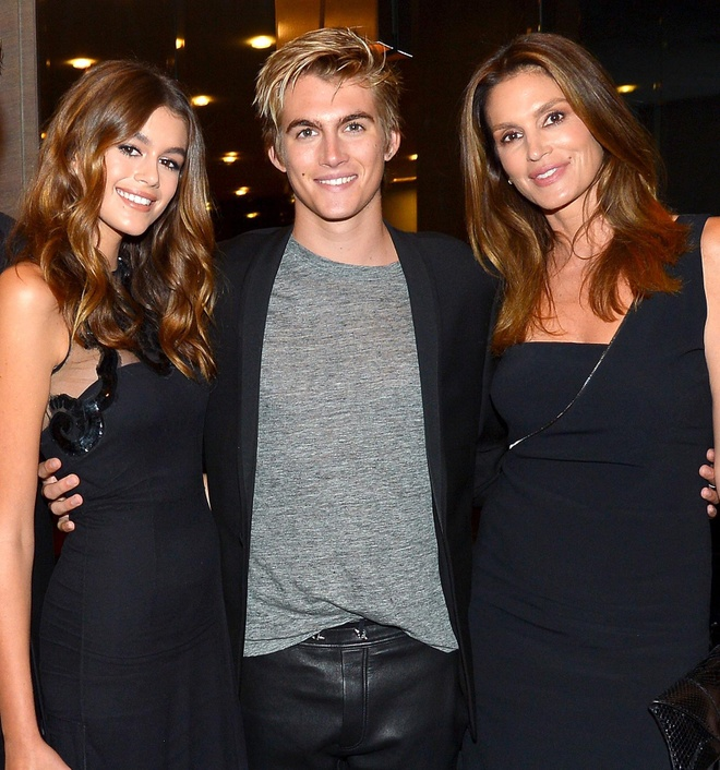 gia dinh Cindy Crawford anh 10