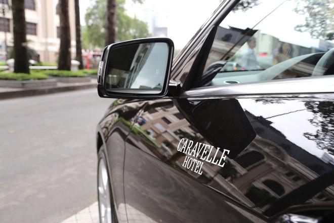 Mercedes cung cap xe sang cho khach san Caravelle hinh anh