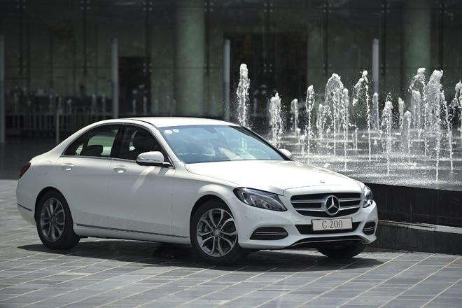 Mercedes C-Class moi tieu thu 5,5 lit/100km ra mat tai VN hinh anh