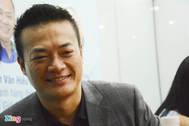 Ông Jeff Lo - Tổng giám đốc Asus Việt Nam.