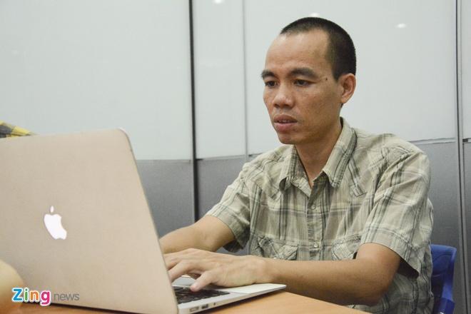 Anh Trần Mạnh Hiệp - admin diễn đàn Tinhte.vn.