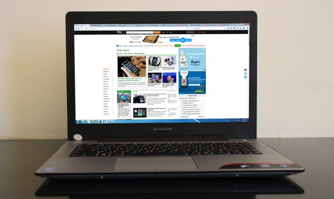 Danh gia Lenovo U41: Vo kim loai, da ket noi hinh anh 1