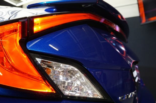 7 diem nhan trong thiet ke cua Honda Civic Coupe 2016 hinh anh 5