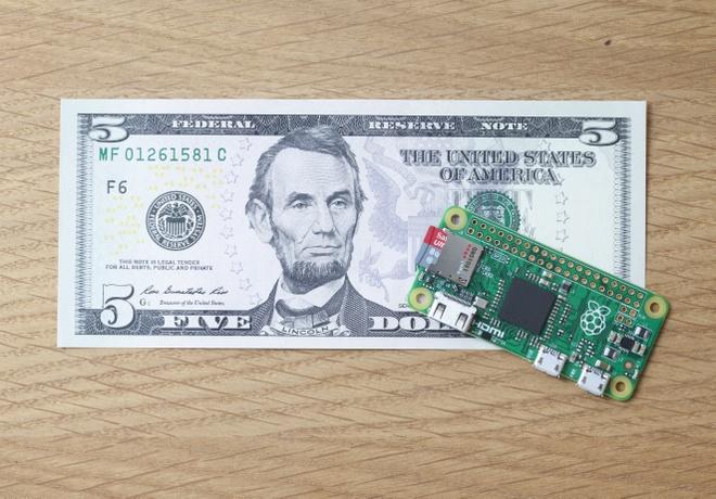 Raspberry Pi Zero - may tinh gia 5 USD hinh anh 1