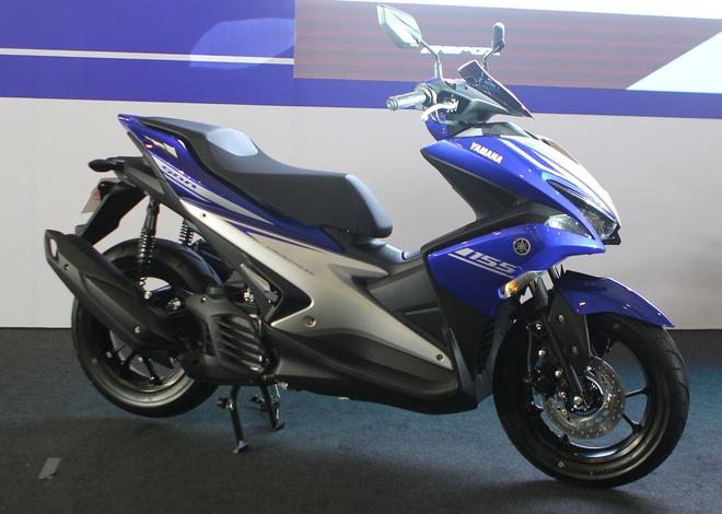 Yamaha ra mat NVX - xe tay ga thay the Nouvo hinh anh 1