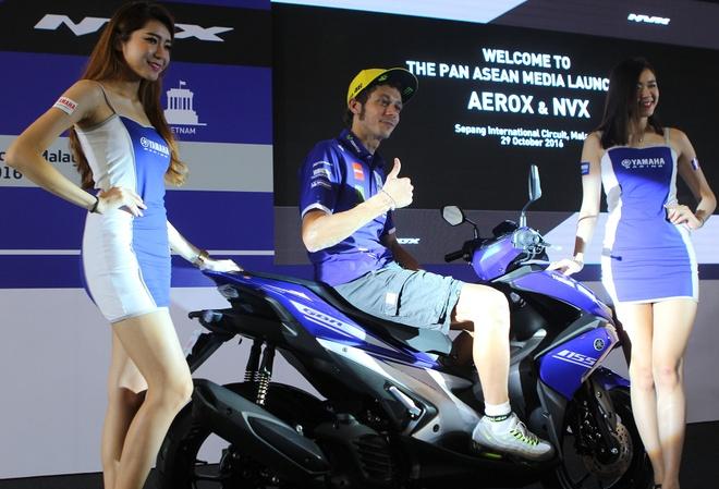 Yamaha ra mat NVX - xe tay ga thay the Nouvo hinh anh 2