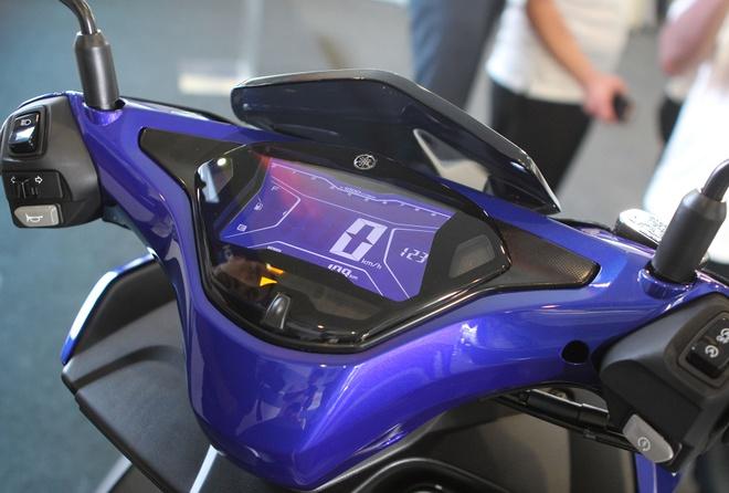 Chi tiet Yamaha NVX - xe tay ga thay the Nouvo hinh anh 6