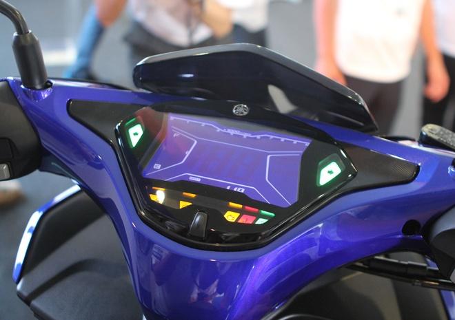 Chi tiet Yamaha NVX - xe tay ga thay the Nouvo hinh anh 5