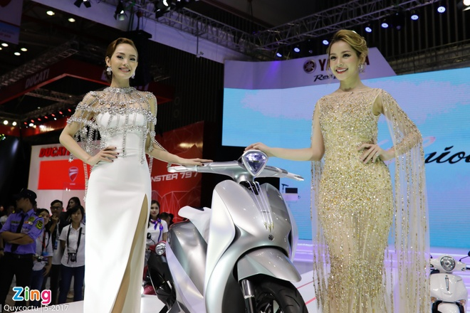 VMCS 2017 khai mac: Yamaha Glorious, Honda Lead trinh lang hinh anh 20