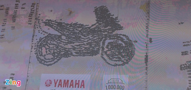 Yamaha Viet Nam lap 2 ky luc the gioi voi xe Exciter hinh anh 12