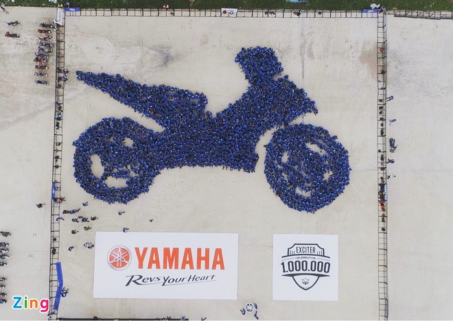 Yamaha Viet Nam lap 2 ky luc the gioi voi xe Exciter hinh anh 18