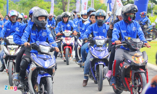 Yamaha Viet Nam lap 2 ky luc the gioi voi xe Exciter hinh anh 3