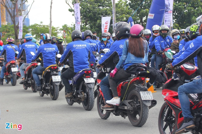 Yamaha Viet Nam lap 2 ky luc the gioi voi xe Exciter hinh anh 4