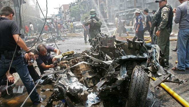 Danh bom lien tiep tai mien Nam Thai Lan, it nhat 3 nguoi bi thuong hinh anh