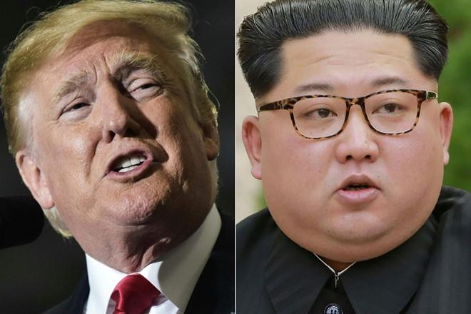 4 ngay sau thu huy hen, Trump tang suc ep de chuan bi gap Kim hinh anh