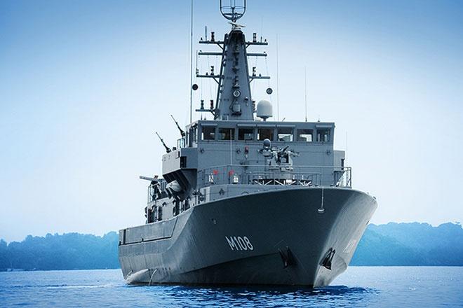 Hai thi the nan nhan QZ8501 ve dat lien hinh anh 31 Singapore đã điều tàu chiến thứ 5 tham gia chiến dịch cứu hộ. RSS Kallang, tên của chiến hạm,