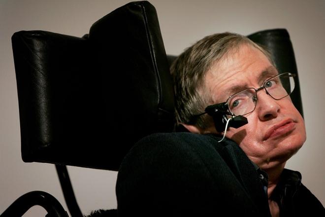 Giáo sư Stephen Hawking. Ảnh: Getty