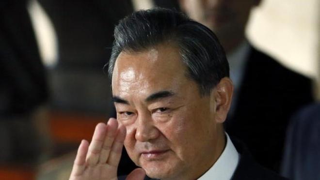 Trung Quoc tuyen bo APEC khong thich hop de ban ve Bien Dong hinh anh 1 Ông Vương Nghị, Bộ trưởng Ngoại giao Trung Quốc. Ảnh: AP