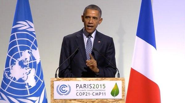 'Chung ta la the he cuoi cung co the ngan bien doi khi hau' hinh anh 1 Tổng thống Mỹ Barack Obama mong hội nghị COP21 sẽ là bước ngoặt quan trọng trong cuộc chiến chống biến đổi khí hậu. Ảnh: BBC