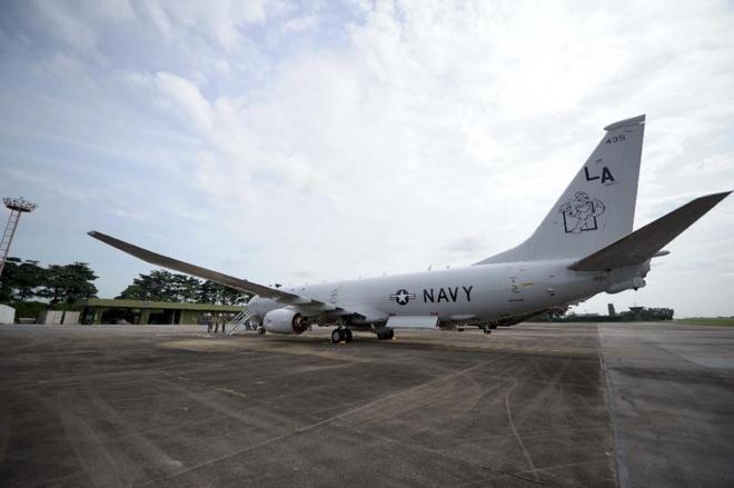 Một phi cơ do thám P8 Poseidon của Hải quân Mỹ. Ảnh: AFP
