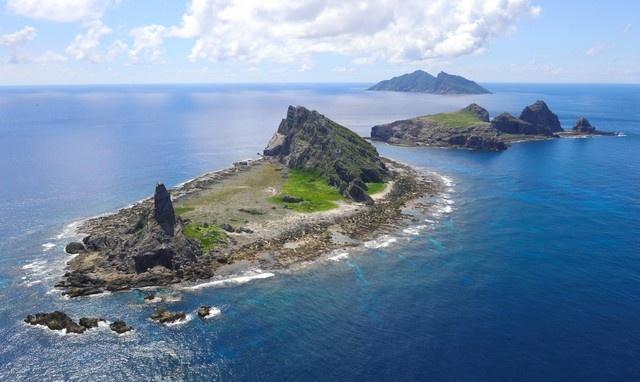 Quần đảo Senkaku/Điếu Ngư mà Nhật Bản và Trung Quốc cùng tuyên bố chủ quyền. Ảnh: Kyodo