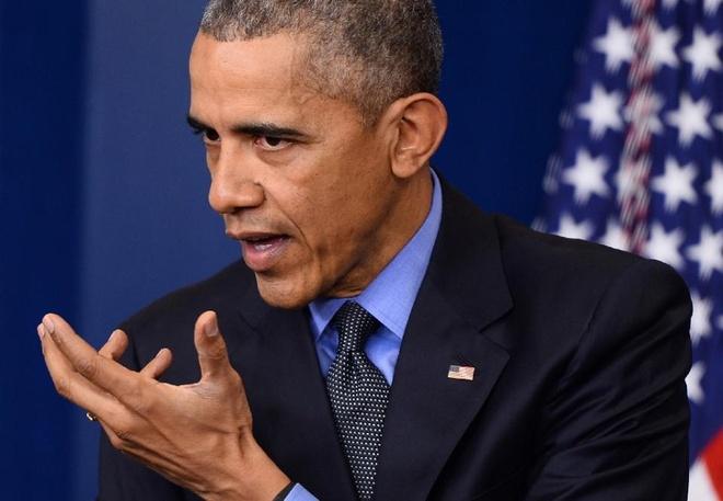 Obama thua nhan diet IS la muc tieu kho hinh anh 1 Tổng thống Mỹ Barack Obama. Ảnh: AP