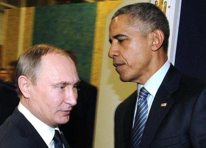 Obama, Putin dien dam ve Syria hinh anh
