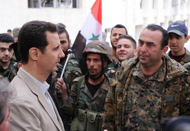 Syria khong noi chuyen tong thong tu chuc anh 1