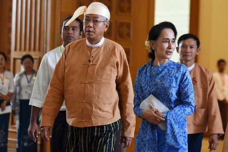 Quan doi Myanmar phan doi vai tro cua ba Suu Kyi hinh anh
