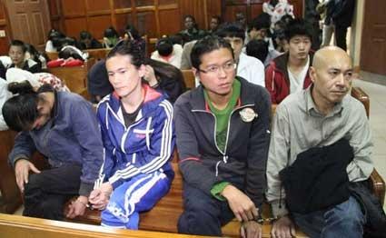 Chinh quyen dao Dai Loan to Trung Quoc bat coc cong dan hinh anh 1