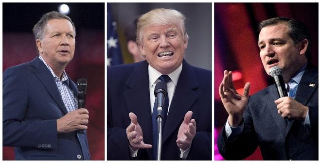 Thang o Indiana, Trump tien sat dich ung vien dang Cong hoa hinh anh 1