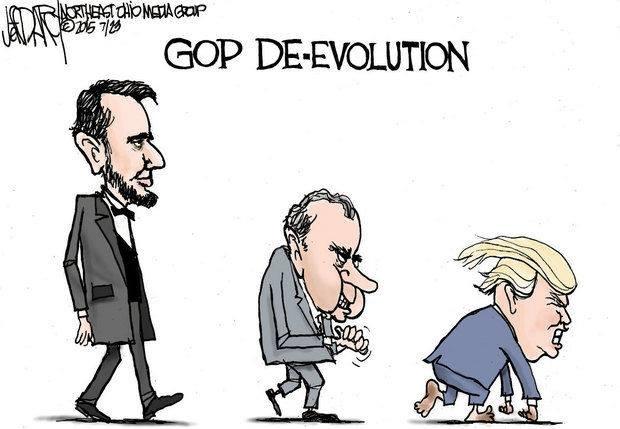 Trump 'den tu hanh tinh khac' trong tranh biem hoa hinh anh 4