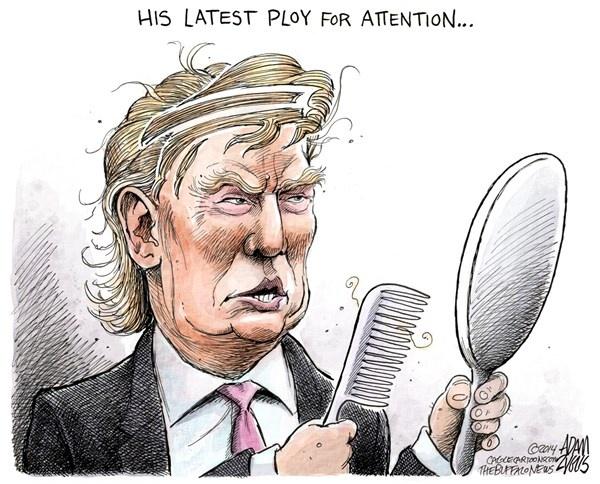 Trump 'den tu hanh tinh khac' trong tranh biem hoa hinh anh 7