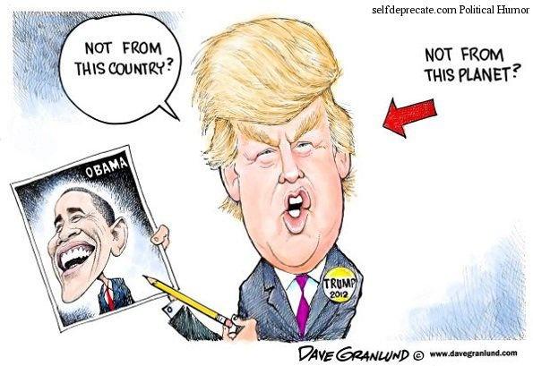 Trump 'den tu hanh tinh khac' trong tranh biem hoa hinh anh