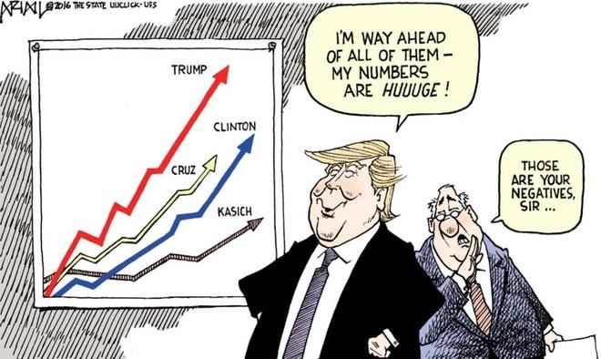 Trump 'den tu hanh tinh khac' trong tranh biem hoa hinh anh 2