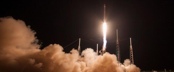 Ten lua cua SpaceX dap xuong be noi lan thu hai hinh anh 1