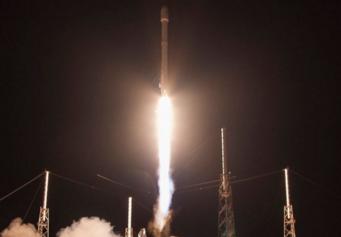 Ten lua cua SpaceX dap xuong be noi lan thu hai hinh anh